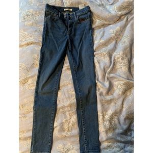 Levi's High Rise Super Skinny 720